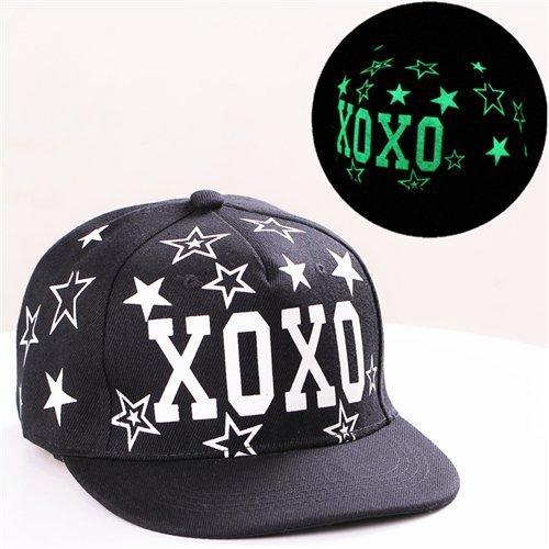 Baseball Cap Hip Hop Fluorescent Light Snapback Caps - Luminous Hat 38