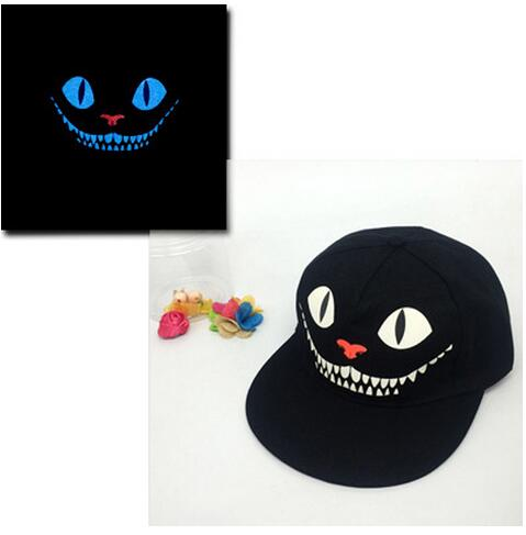 Baseball Cap Hip Hop Fluorescent Light Snapback Caps - Luminous Hat 40