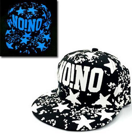Baseball Cap Hip Hop Fluorescent Light Snapback Caps - Luminous Hat 44