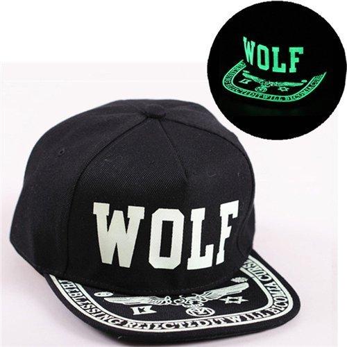 Baseball Cap Hip Hop Fluorescent Light Snapback Caps - Luminous Hat 20
