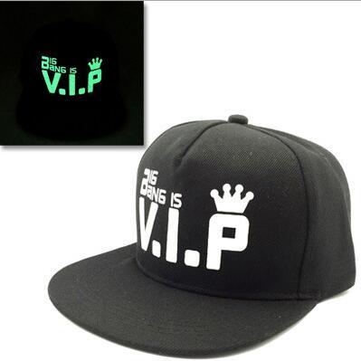 Baseball Cap Hip Hop Fluorescent Light Snapback Caps - Luminous Hat 24
