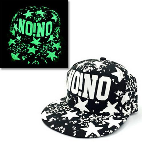 Baseball Cap Hip Hop Fluorescent Light Snapback Caps - Luminous Hat 26