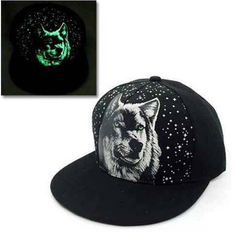 Baseball Cap Hip Hop Fluorescent Light Snapback Caps - Luminous Hat 32