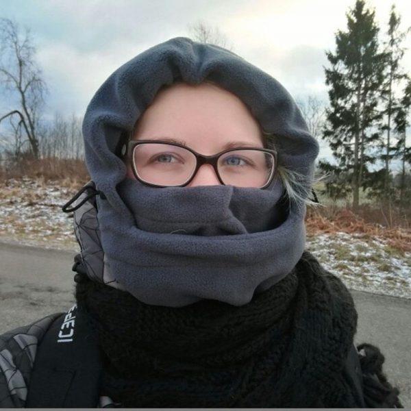 winter Fleece full face & neck warmer 6