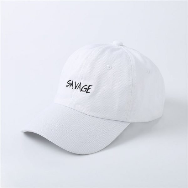 100% Cotton Embroidery SAVAGE Hats 2017 Exclusive Dad Hat Baseball Cap Men and Women Good Gift Summer Tourism Savage Snapback 8