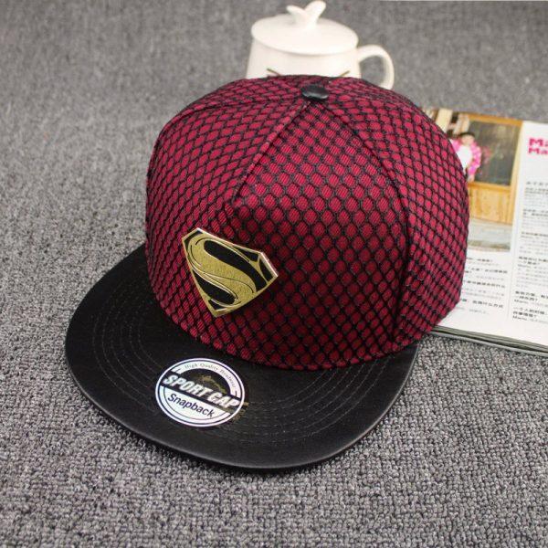 New Fashion Summer Brand Superman Baseball Cap Hat For Men WomenTeens Casual Bone Hip Hop Snapback Caps Sun Hats 6