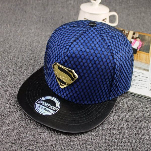 New Fashion Summer Brand Superman Baseball Cap Hat For Men WomenTeens Casual Bone Hip Hop Snapback Caps Sun Hats 18