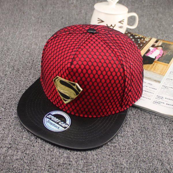 New Fashion Summer Brand Superman Baseball Cap Hat For Men WomenTeens Casual Bone Hip Hop Snapback Caps Sun Hats 8