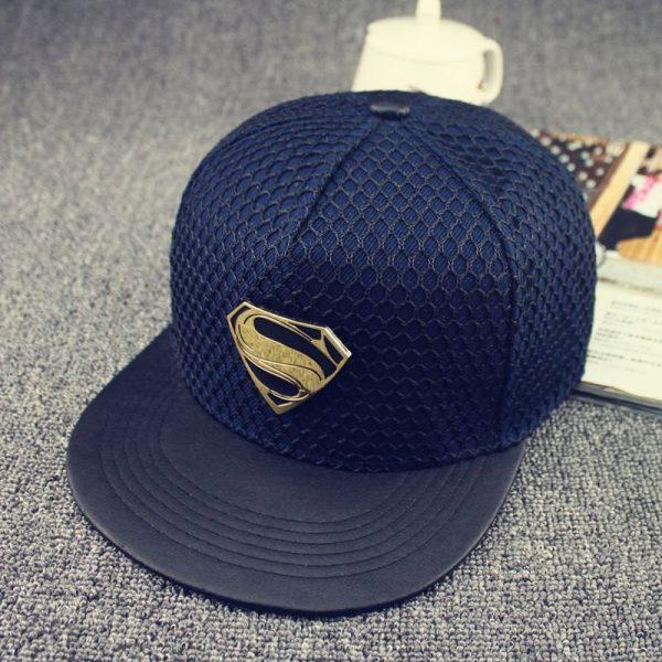 New Fashion Summer Brand Superman Baseball Cap Hat For Men WomenTeens Casual Bone Hip Hop Snapback Caps Sun Hats 12
