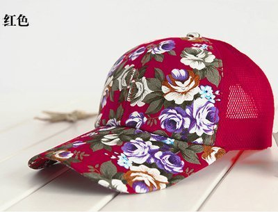 hot sale female floral baseball hat for women spring and summer casual cap girls sun snapback hats for sport l leisure 16