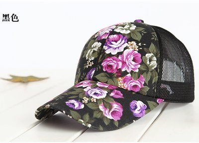hot sale female floral baseball hat for women spring and summer casual cap girls sun snapback hats for sport l leisure 14