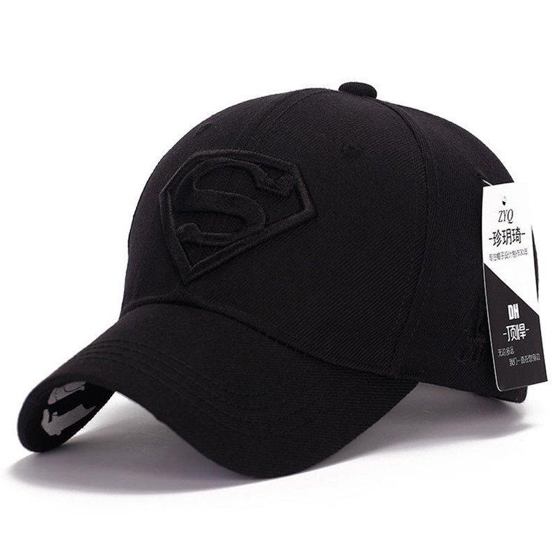 Gorras Superman Cap Casquette Superman Baseball Cap Men Brand Women Bone Diamond Snapback For Adult Trucker Hat 3