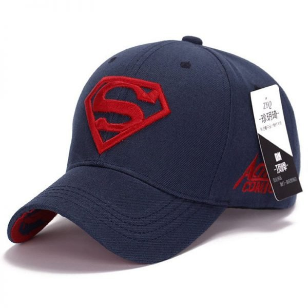 Gorras Superman Cap Casquette Superman Baseball Cap Men Brand Women Bone Diamond Snapback For Adult Trucker Hat 8