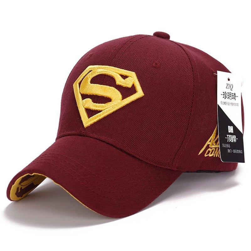 Gorras Superman Cap Casquette Superman Baseball Cap Men Brand Women Bone Diamond Snapback For Adult Trucker Hat 9