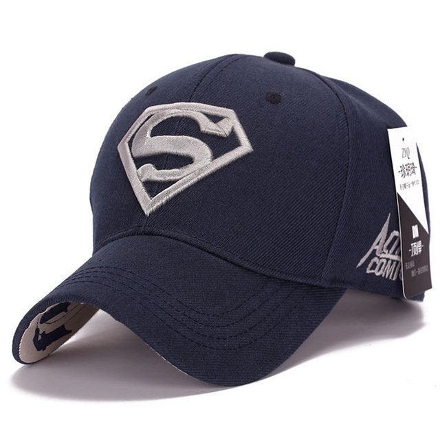 Gorras Superman Cap Casquette Superman Baseball Cap Men Brand Women Bone Diamond Snapback For Adult Trucker Hat 21