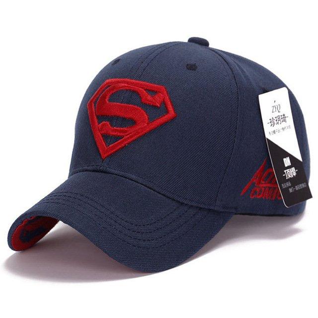 Gorras Superman Cap Casquette Superman Baseball Cap Men Brand Women Bone Diamond Snapback For Adult Trucker Hat 23