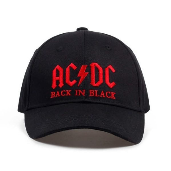 New AC/DC band baseball cap rock hip hop cap Mens acdc snapback hat Embroidery Letter Casual DJ ROCK dad hat 16