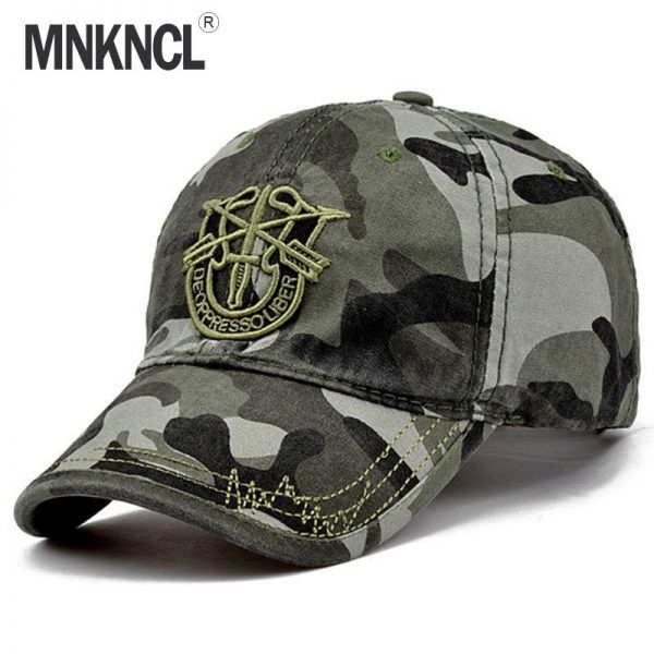 New Brand Fashion Army Camo Baseball Cap Men Women Tactical Sun Hat Letter Adjustable Camouflage Casual Snapback Cap 2