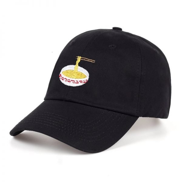 New Style Adjustable Nuddles Embroidery Cotton Baseball Hat Fashion Unisex Baseball Cap Cacaul Dad Hats Girl Snapback Cap 4