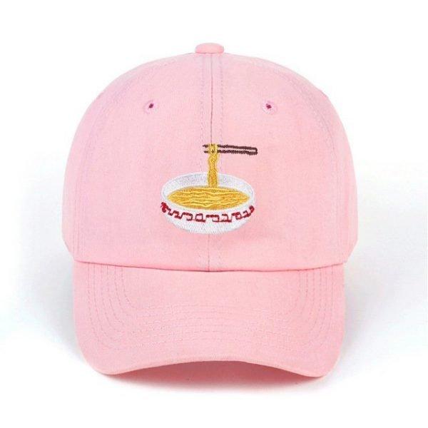 New Style Adjustable Nuddles Embroidery Cotton Baseball Hat Fashion Unisex Baseball Cap Cacaul Dad Hats Girl Snapback Cap 18