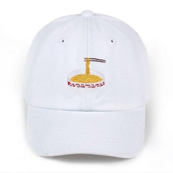 New Style Adjustable Nuddles Embroidery Cotton Baseball Hat Fashion Unisex Baseball Cap Cacaul Dad Hats Girl Snapback Cap 10
