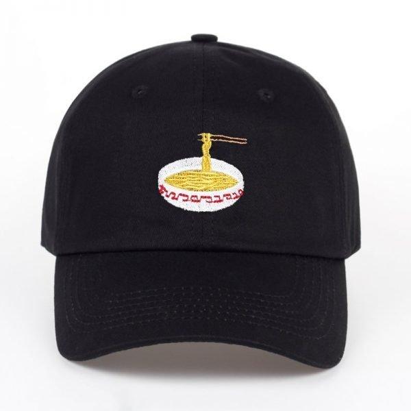 New Style Adjustable Nuddles Embroidery Cotton Baseball Hat Fashion Unisex Baseball Cap Cacaul Dad Hats Girl Snapback Cap 2