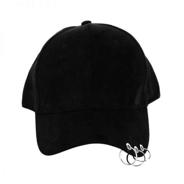 New arrival Fashion Baseball Cap Snapback Hat Cap Men Hip Hop Hat Dance Show Hats with Rings 12