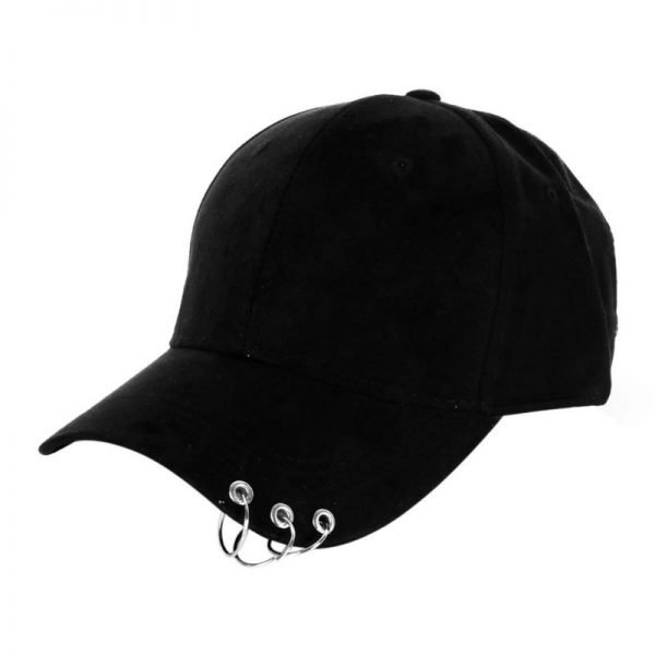 New arrival Fashion Baseball Cap Snapback Hat Cap Men Hip Hop Hat Dance Show Hats with Rings 2