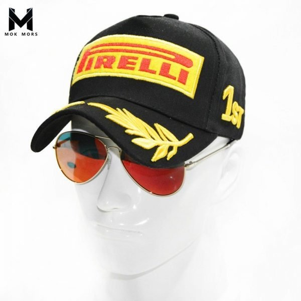 Snapback Racing Cap Baseball Cap Black F1 Style Hats For Men Car Motorcycle Racing MOTO GP Casquette Outdoor Sports Sun Hat 4