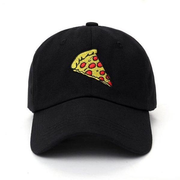 new pizza embroidery Baseball Cap Trucker Hat For Women Men Unisex Adjustable Size dad cap hats 16