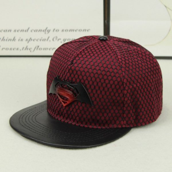 Fashion Superman Batman Snapback Hats For Men Women Summer Baseball Cap Casual Outdoor Sports Hip Hop Hat Mesh Caps 14