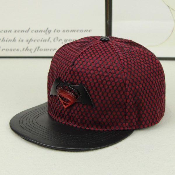 Fashion Superman Batman Snapback Hats For Men Women Summer Baseball Cap Casual Outdoor Sports Hip Hop Hat Mesh Caps 10