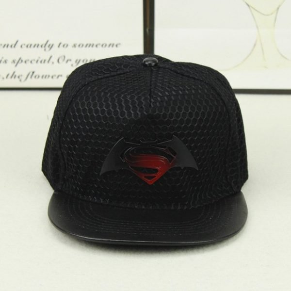 Fashion Superman Batman Snapback Hats For Men Women Summer Baseball Cap Casual Outdoor Sports Hip Hop Hat Mesh Caps 12