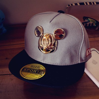 Hot cartoon cute ear hats children snapback Caps baseball Cap with ears Funny Hats spring summer hip hop boy hats caps 12