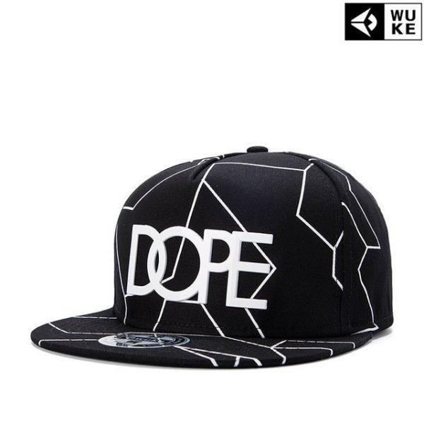 New Bone Gorras Planas Snapbacks Hot style Masculino Feminino Dope Print flat hat baseball cap Hip Hop Cap hat Swag Mens 16