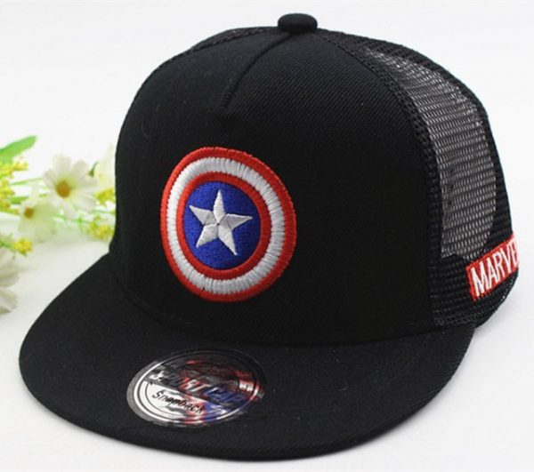 New Kids Baseball Caps Fashion Superman Batman Children Snapback Caps Gorras Planas Boys Hip Hop Hat Mesh Summer Hats 2318 36