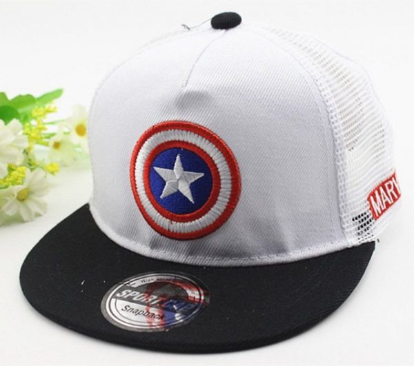 New Kids Baseball Caps Fashion Superman Batman Children Snapback Caps Gorras Planas Boys Hip Hop Hat Mesh Summer Hats 2318 38