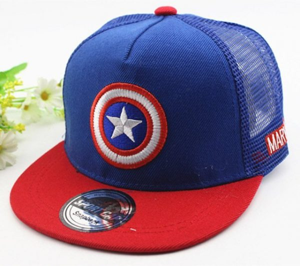 New Kids Baseball Caps Fashion Superman Batman Children Snapback Caps Gorras Planas Boys Hip Hop Hat Mesh Summer Hats 2318 40