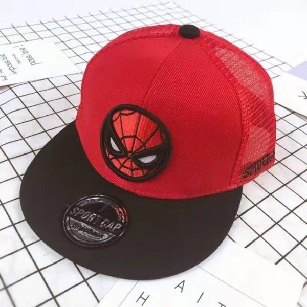 New Kids Baseball Caps Fashion Superman Batman Children Snapback Caps Gorras Planas Boys Hip Hop Hat Mesh Summer Hats 2318 44
