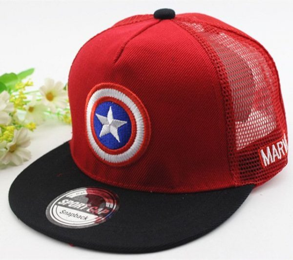 New Kids Baseball Caps Fashion Superman Batman Children Snapback Caps Gorras Planas Boys Hip Hop Hat Mesh Summer Hats 2318 32