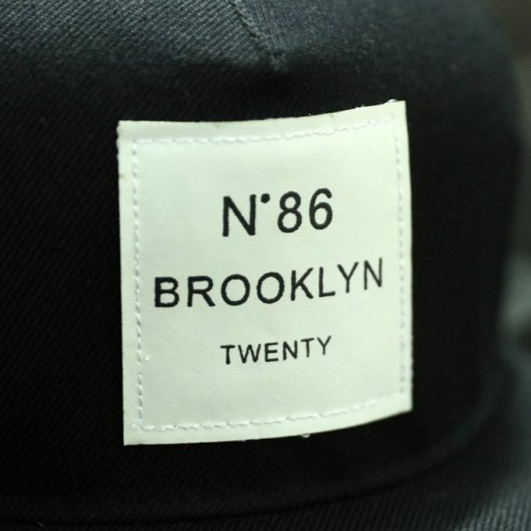 BROOKLYN Letters Solid Color Patch Baseball Cap Hip Hop Caps Leather Sun Hat Snapback Hats 6