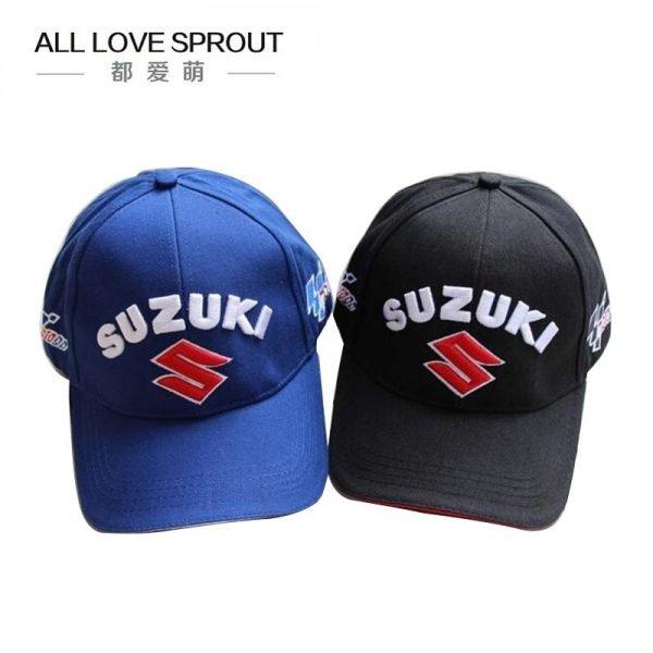 Motorcycle Racing Cap Hat summer SUZUKIS caps hat baseball cap hat adjustable cotton embroideried moto gp cap 6
