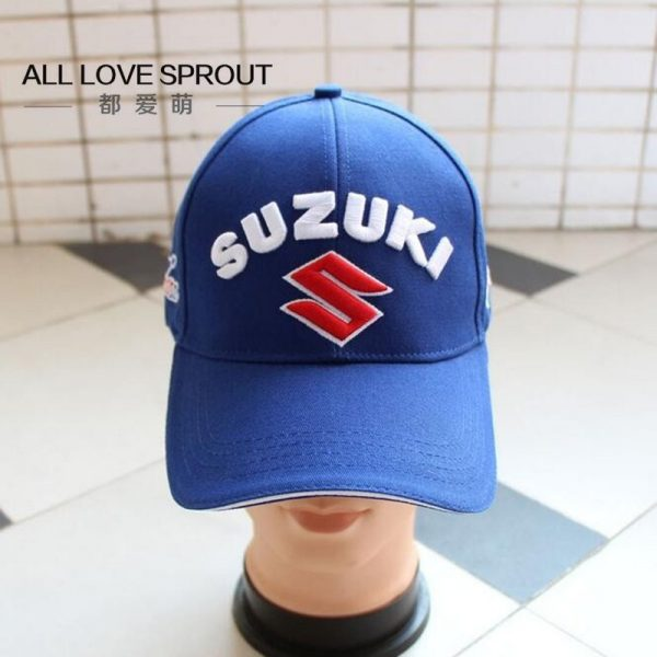 Motorcycle Racing Cap Hat summer SUZUKIS caps hat baseball cap hat adjustable cotton embroideried moto gp cap 10