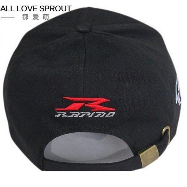 Motorcycle Racing Cap Hat summer SUZUKIS caps hat baseball cap hat adjustable cotton embroideried moto gp cap 12