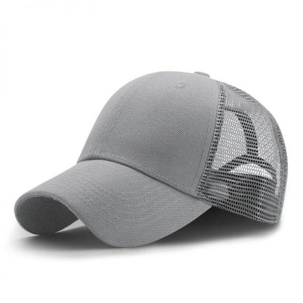 New Summer Sport Mesh Baseball Caps Men or Women Outdoor Snapback Bone Breathable Hats Z-6273 4