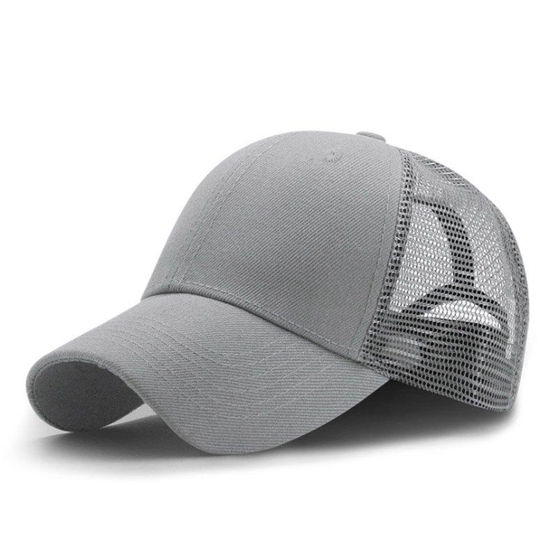 New Summer Sport Mesh Baseball Caps Men or Women Outdoor Snapback Bone Breathable Hats Z-6273 3