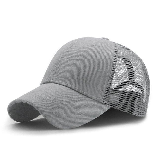 New Summer Sport Mesh Baseball Caps Men or Women Outdoor Snapback Bone Breathable Hats Z-6273 15