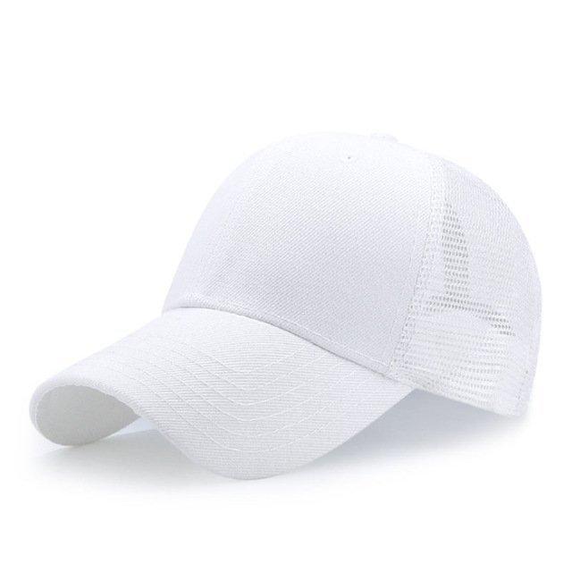 New Summer Sport Mesh Baseball Caps Men or Women Outdoor Snapback Bone Breathable Hats Z-6273 17
