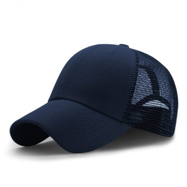 New Summer Sport Mesh Baseball Caps Men or Women Outdoor Snapback Bone Breathable Hats Z-6273 8