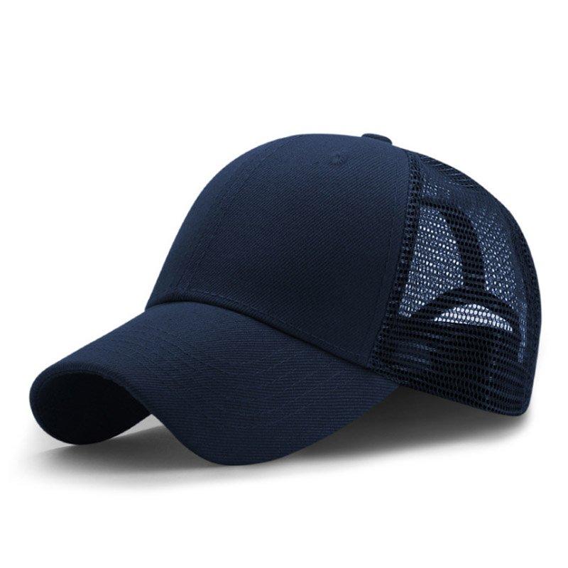 New Summer Sport Mesh Baseball Caps Men or Women Outdoor Snapback Bone Breathable Hats Z-6273 7